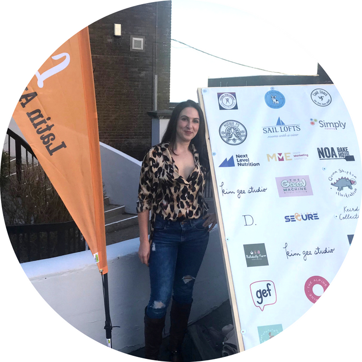 White Section Image